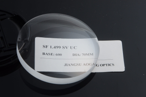 SF semi-finished CR39 1.49 single vision UC/HC/HMC ophthalmic lens optical prescription lenses