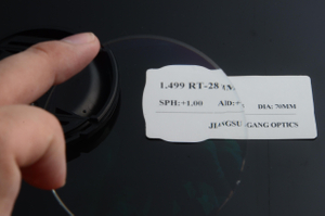 1.499 bifocal round top optical lenses cr39